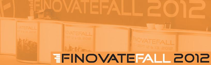 Reflections on FinovateFall2012